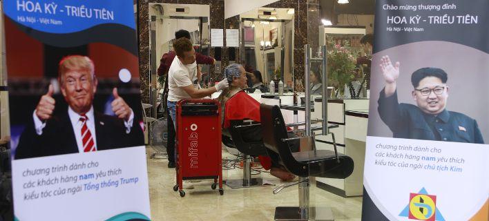 Κουρέας μεταμορφώνει τους πελάτες του σε Ντόναλντ Τραμπ και Κιμ Γιονγκ Ουν [εικόνες]