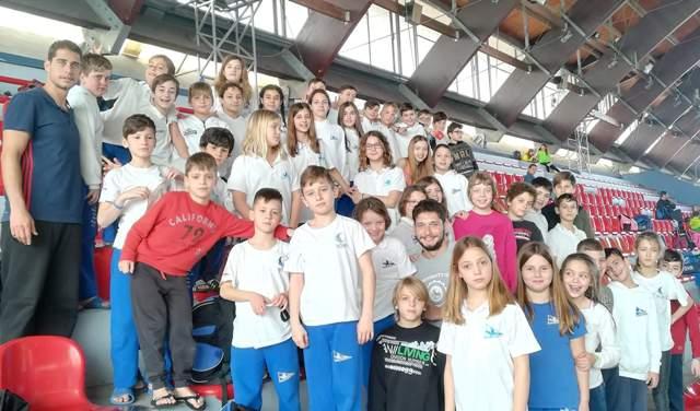 Εξαιρετική εμφάνιση του ΝΟΒ-Α στους χειμερινούς αγώνες κολύμβησης