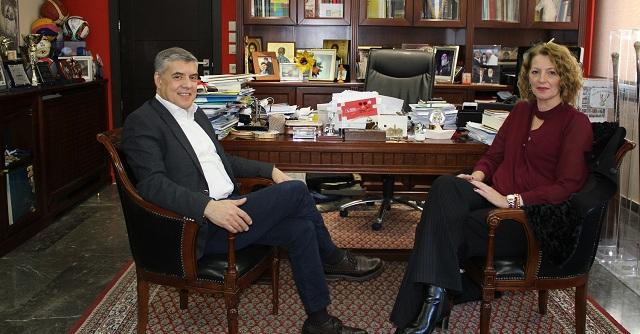 Υποψήφια με τον Κ. Αγοραστό στις Β. Σποράδες η Αθηνά Ντάκη