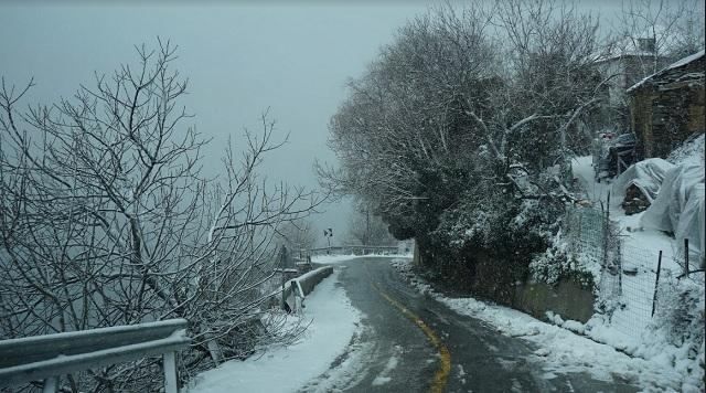 Στα «λευκά» τα ορεινά του Δήμου Βόλου και το Πήλιο