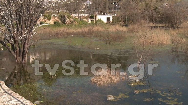Χαλκίδα: Μυστήριο φαινόμενο - Η γη αναβλύζει νερό