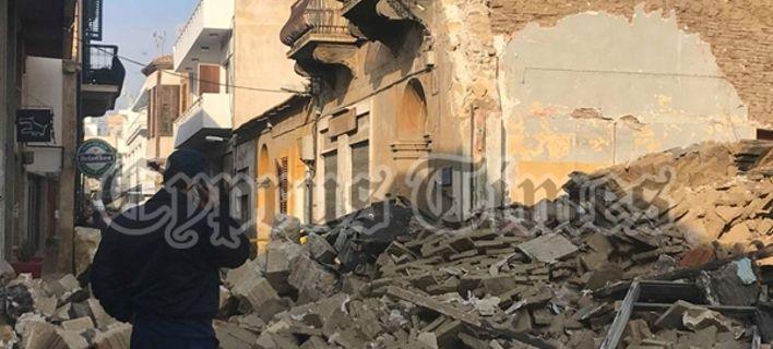 Κατέρρευσε κτίριο στη Λευκωσία: Ερευνες για τυχόν εγκλωβισμένους [εικόνες]