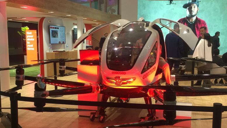 Έρχονται τα αεροταξί drones: Μεταφορά επιβατών χωρίς οδηγό