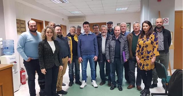 Προχωρά η συνεργασία των ΟΕΒΕ των Νομών της Θεσσαλίας και της Φθιώτιδας