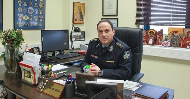 Τελετή ανάληψης καθηκόντων του νέου Διευθυντή Αστυνομίας Μαγνησίας
