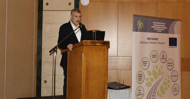 Αγοραστός: Βιολογικός σε όλους τους οικισμούς της Θεσσαλίας και ηλεκτροκίνηση του σιδηροδρόμου