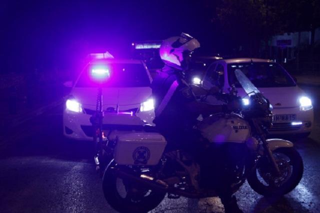 Κινηματογραφική ληστεία με οδοφράγματα και δράστη μεταμφιεσμένο σε αστυνομικό