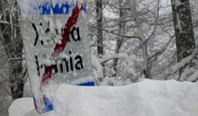 Χιόνισε και χθες στο Πήλιο