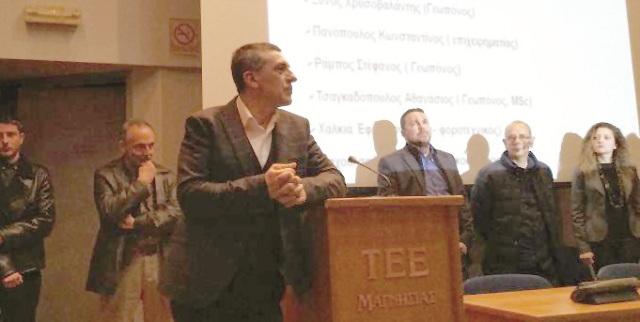 Το πρόγραμμα του συνδυασμού του Δημ. Κουρέτα και οι υποψήφιοι στη Μαγνησία