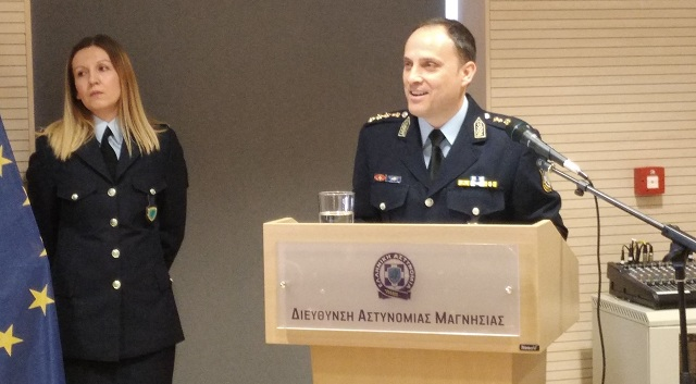 Επίσημα στο τιμόνι της Αστυνομικής Διεύθυνσης ο Βασίλης Καραΐσκος