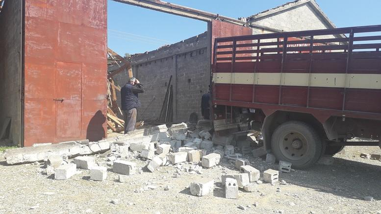 53χρονος καταπλακώθηκε από τσιμεντόλιθους στην αποθήκη του