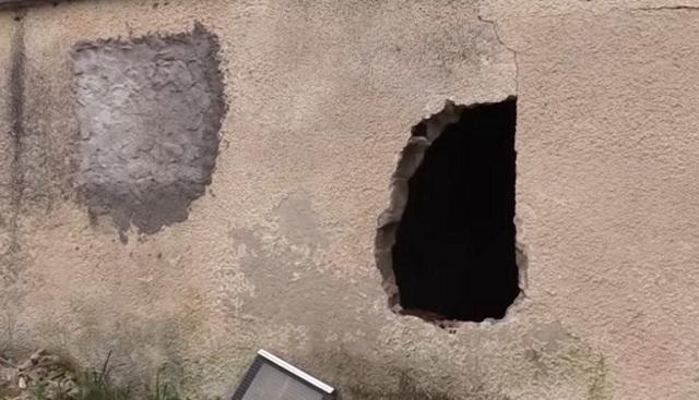 Τσιμέντωσαν τα παράθυρα αλλά δεν έσωσαν την περιουσία τους