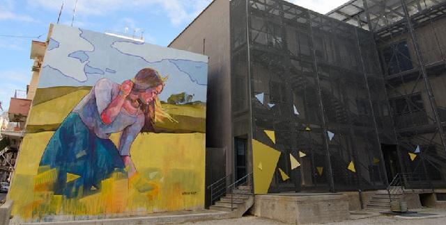 Φεστιβάλ τοιχογραφιών με νέες δημιουργίες στον Βόλο