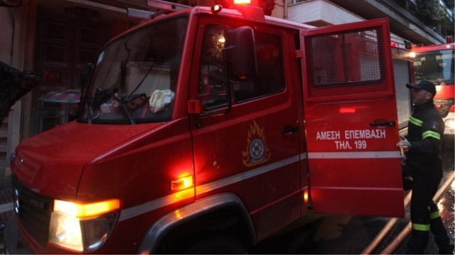 Κινητοποίηση της Πυροσβεστικής για οσμή αερίου στο κέντρο του Βόλου