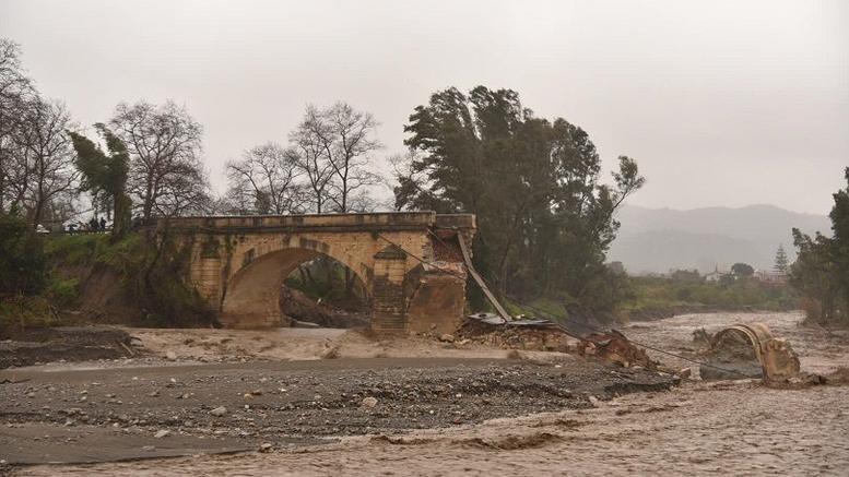«Πνίγηκε» από την κακοκαιρία η Κρήτη: Επεσαν 80 εκατ. κυβικά νερού σε 41 ώρες