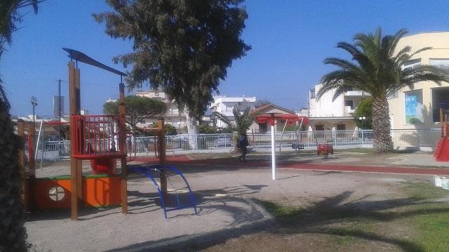 Ξεκινά λίφτινγκ στις παιδικές χαρές του Δήμου Βόλου
