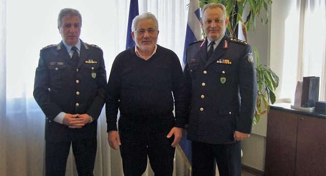 Συνεργασία για την ανέγερση νέου κτιρίου της Αστυνομικής Διεύθυνσης Τρικάλων
