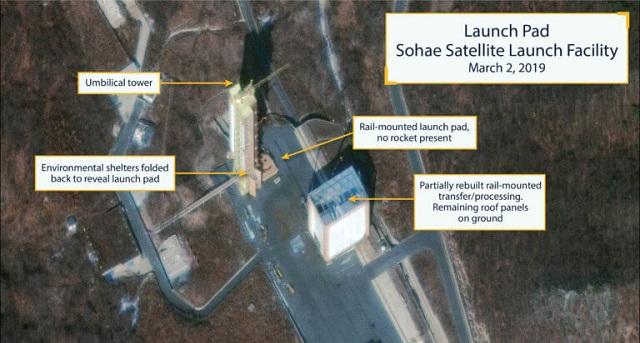 Βόρεια Κορέα: Λειτουργικές και πάλι οι εγκαταστάσεις εκτόξευσης πυραύλων