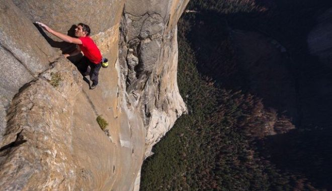 Free Solo: Πιο ακραίο από θρίλερ - Στα 915 μέτρα με γυμνά χέρια