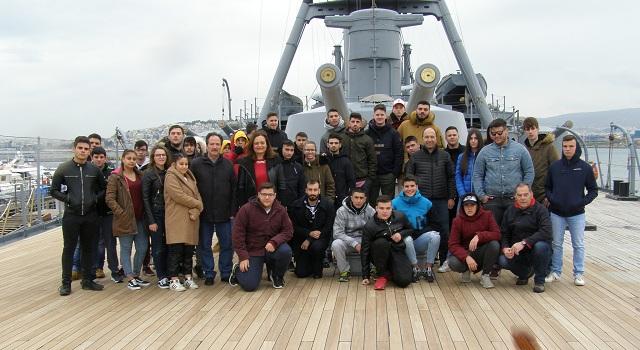 Κατάπλους μαθητών στα λιμάνια της ναυτικής ιστορίας