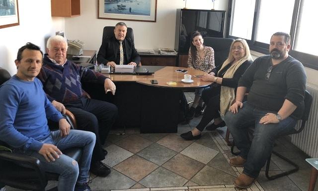 Επαφές Κ. Χαλέβα για Αλατά και νέα μονάδα παραγωγής βιοντίζελ στην ΒΙ.ΠΕ. Βόλου