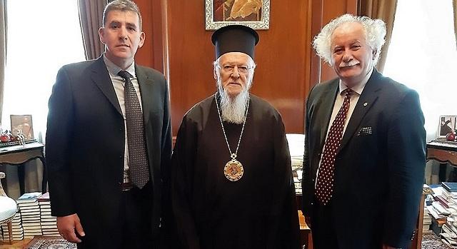 Συνάντηση με τον Οικουμενικό Πατριάρχη