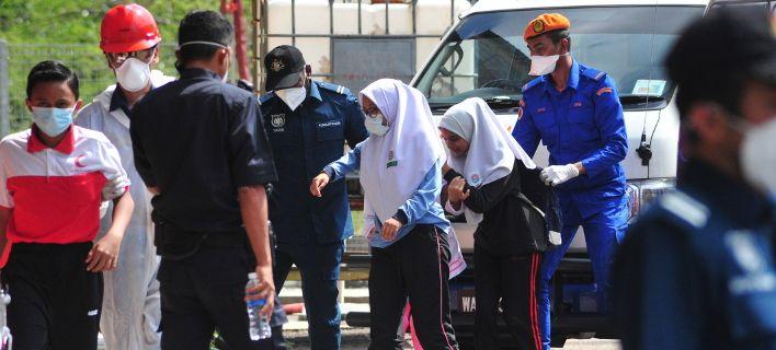 Πανικός στη Μαλαισία από διαρροή τοξικών αποβλήτων: Μαζικές δηλητηριάσεις
