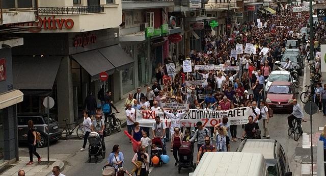Συλλαλητήριο κατά της καύσης σκουπιδιών σήμερα