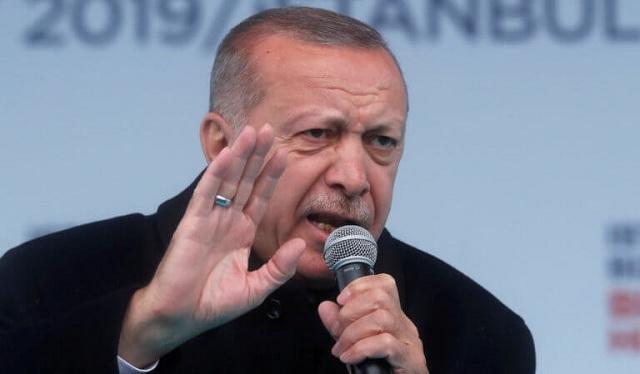 Νέα πρόκληση Ερντογάν: «Αναγνωρίζουμε μόνο έξι μίλια ελληνικού εναέριου χώρου»