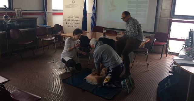 Μάρτυρας σε περιστατικά ανακοπής το 7% των μαθητών της Θεσσαλίας