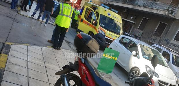 Τροχαίο ατύχημα στην Ιάσονος
