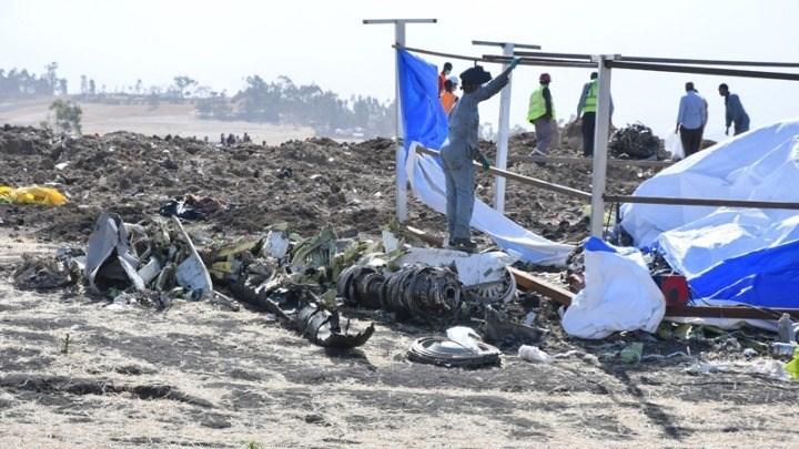 Τι έδειξαν τα μαύρα κουτιά τoυ μοιραίου Boeing της Ethiopian Airlines