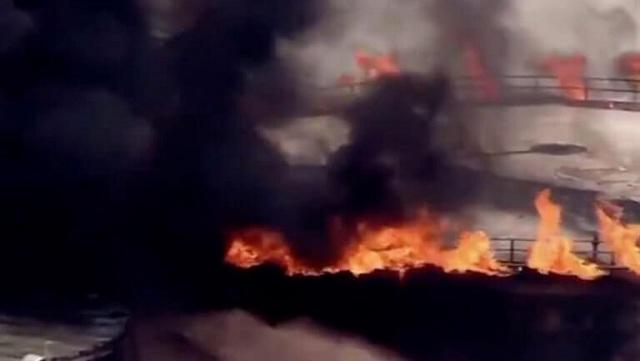 Συναγερμός στο Χιούστον: Μεγάλη φωτιά σε χώρο αποθήκευσης καυσίμων