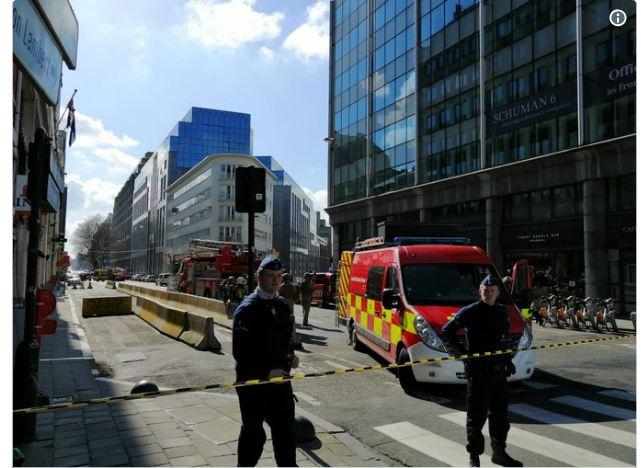 Συναγερμός στις Βρυξέλλες - Εκκενώθηκε η συνοικία που βρίσκεται η Κομισιόν