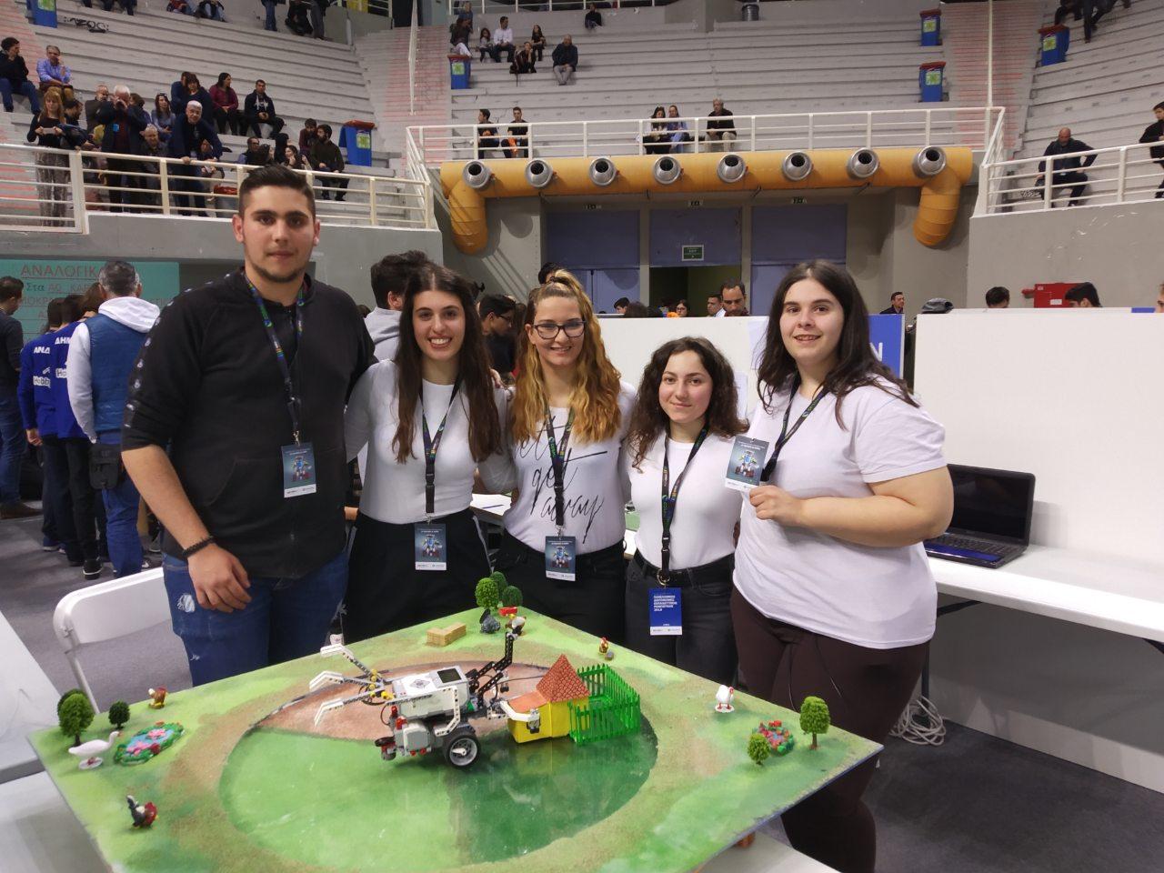 Νέα διάκριση για την Ομάδα Εκπαιδευτικής Ρομποτικής  του ΕΠΑ.Λ Βελεστίνου