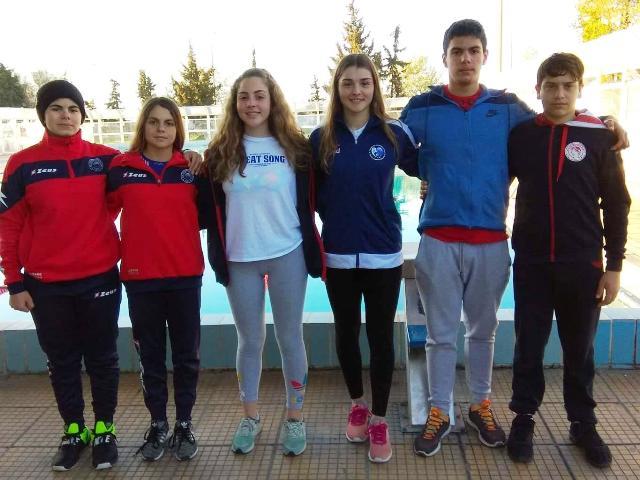 Ολυμπιακός Βόλου: Συγχαίρει τους αθλητές της τεχνικής κολύμβησης