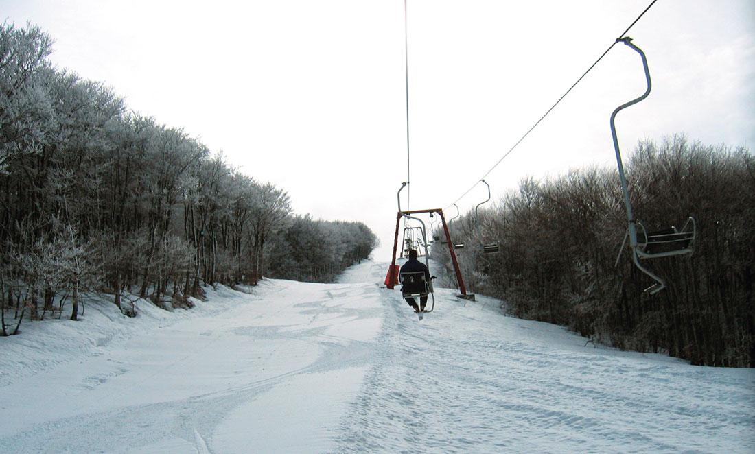 Ανοιχτό για τελευταίο σαββατοκύριακο το Χιονοδρομικό Κέντρο Πηλίου