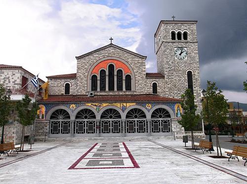 Πανηγυρίζει ο ναός Ευαγγελίστριας στη Νέα Ιωνία