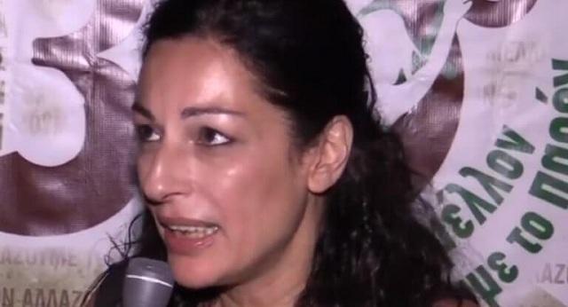 Την αποπομπή της Μυρσίνης Λοΐζου από το ευρωψηφοδέλτιο του ΣΥΡΙΖΑ ζητεί η ΝΔ