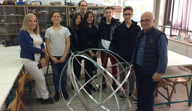 Εντυπωσιακή κατασκευή διά χειρός μαθητών του 9ου Γυμνασίου Βόλου