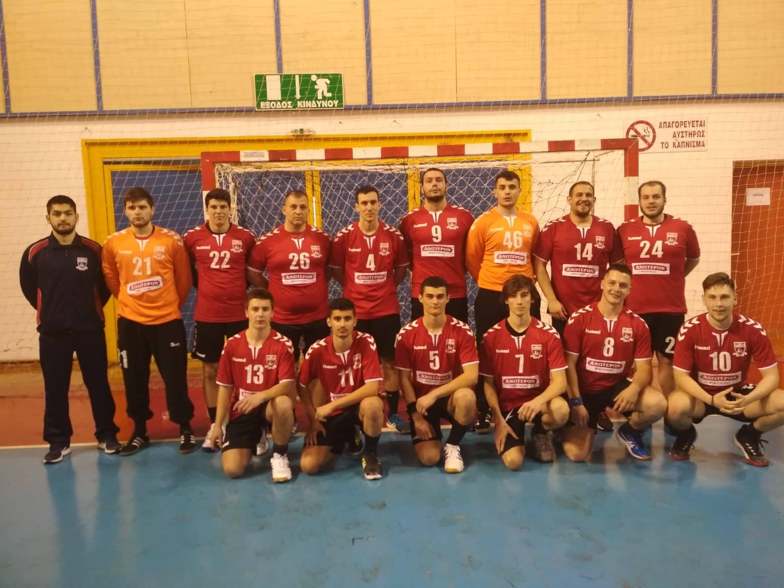 Αυλαία στο πρωτάθλημα Β' εθνικής χάντμπολ για Κένταυρο Αγριάς