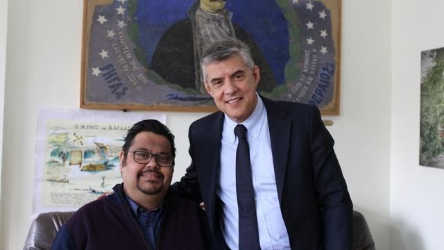 Υποψήφιος με τον Κώστα Αγοραστό στη Μαγνησία ο Πέτρος Μπέλλος