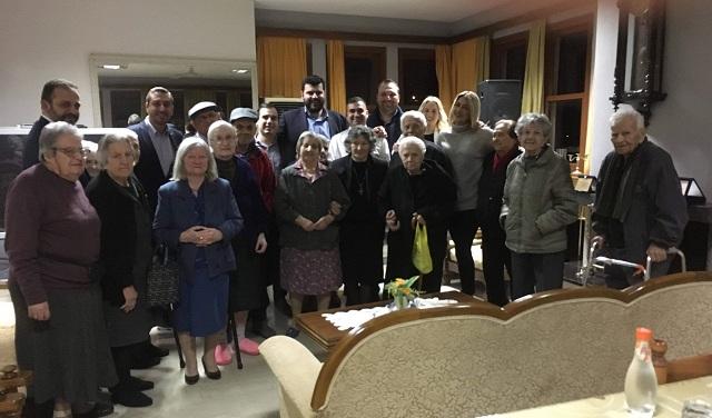 Γεύμα αγάπης της ΟΝΝΕΔ Βόλου για τους φιλοξενούμενους του Γηροκομείου