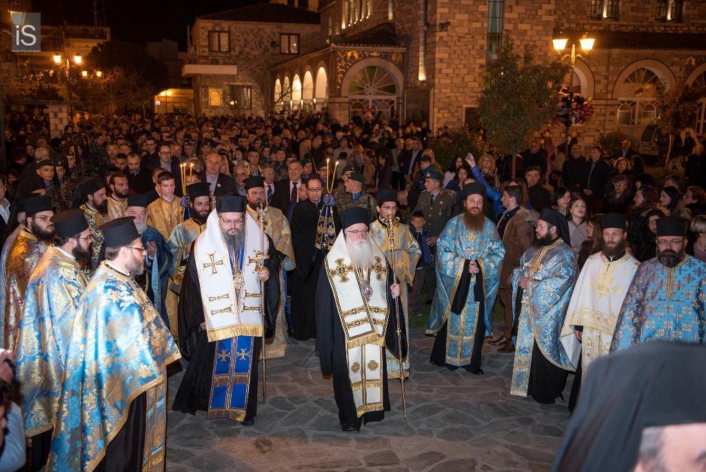 Λαμπρός ο εορτασμός του Ευαγγελισμού στην Ευαγγελίστρια