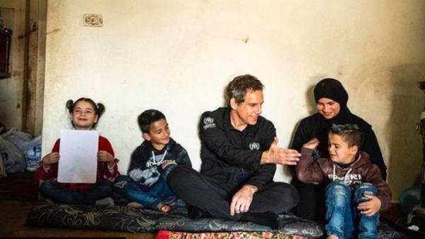 """Μπεν Στίλερ: """"Θα ήθελα τη χώρα μου περισσότερο φιλόξενη στους πρόσφυγες"""""""