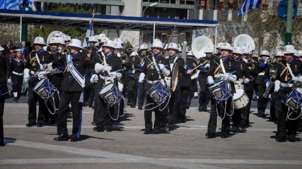 Με το «Μακεδονία Ξακουστή» η μπάντα του Πολεμικού Ναυτικού