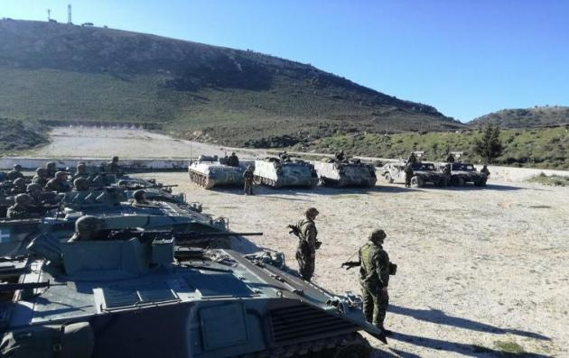 Τέθηκαν σε επιφυλακή ετοιμότητας οι Δυνάμεις Άμεσης Επέμβασης την 25η Μαρτίου [εικόνες]