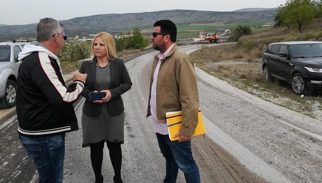Αποκατάσταση βλαβών στο οδικό δίκτυο προς Σέσκλο