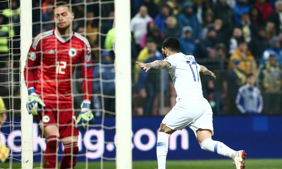 Βοσνία-Ελλάδα 2-2: Γλίτωσε το κάζο, άγγιξε τον θρίαμβο