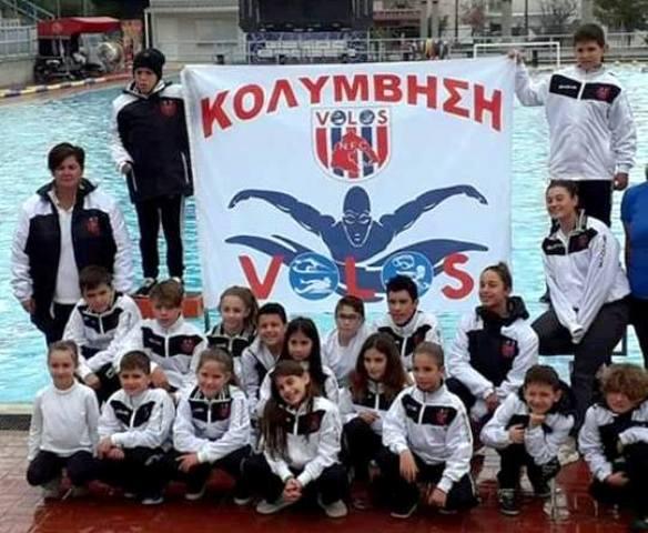 Επιτυχίες των κολυμβητών του ΝΠΣ Βόλος στους χειμερινούς τεχνικής